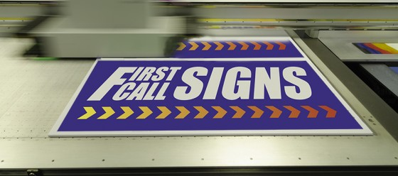 First Call signs