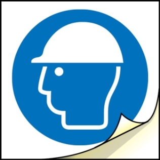 0051 - Hard Hat Label