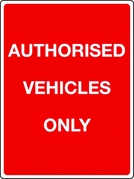 Car parks signage
