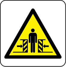 Crusher hazard