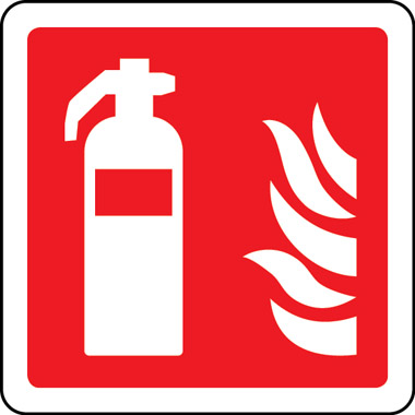 Fire Safety Fire Extinguisher Symbol Sign Stocksigns