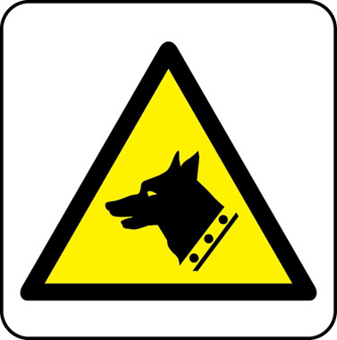 Guard dog symbol sign
