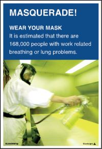 3559 Wear your mask poster