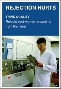 3564 Think quality poster
