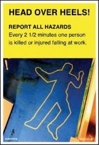 3571 Report all hazards poster