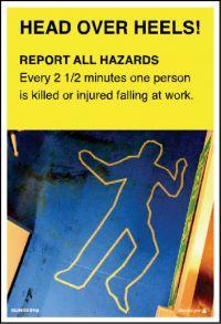 3571 Report all hazards poster