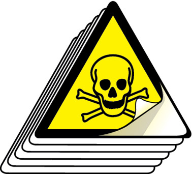 Hazard toxic symbol labels 50mm high pack of 12 stocksigns hazard toxic symbol labels 50mm high pack of 12 hazard labels used to clearly mark dangerous areas in and around your building altavistaventures Images