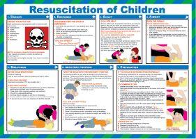 7292 Resuscitation for children poster