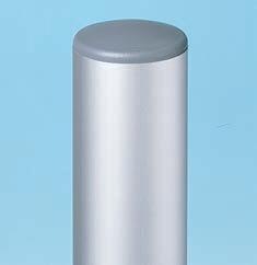 77050 - Round Aluminium Post