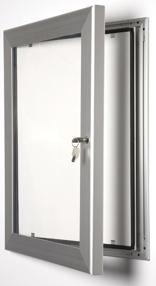 Key lockable poster frame