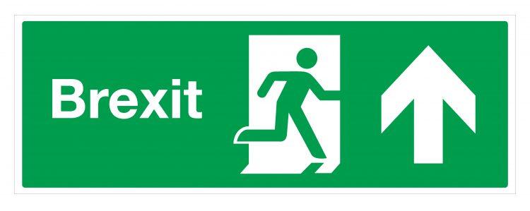 Brexit sign