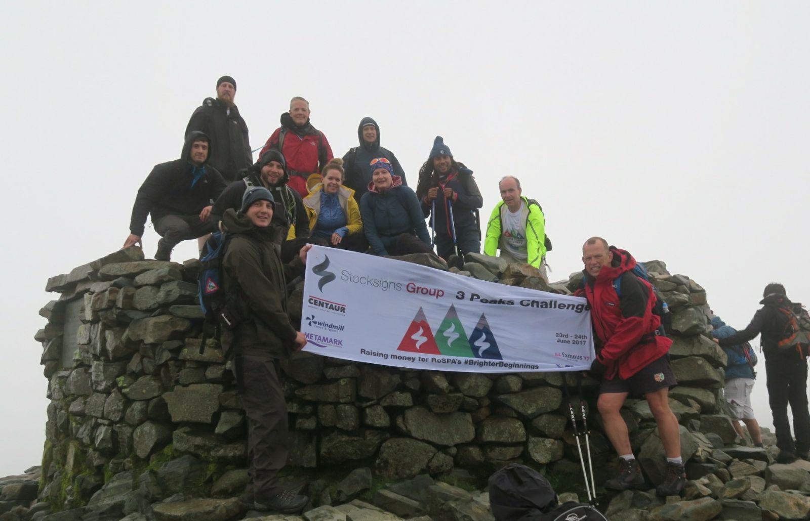 Scarfell Pike summit