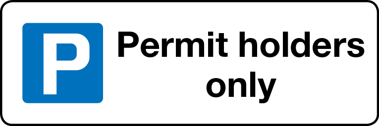 Permit holders only