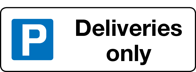Deliveries only