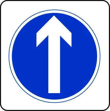 Arrow ahead