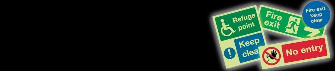 Photluminescent signs