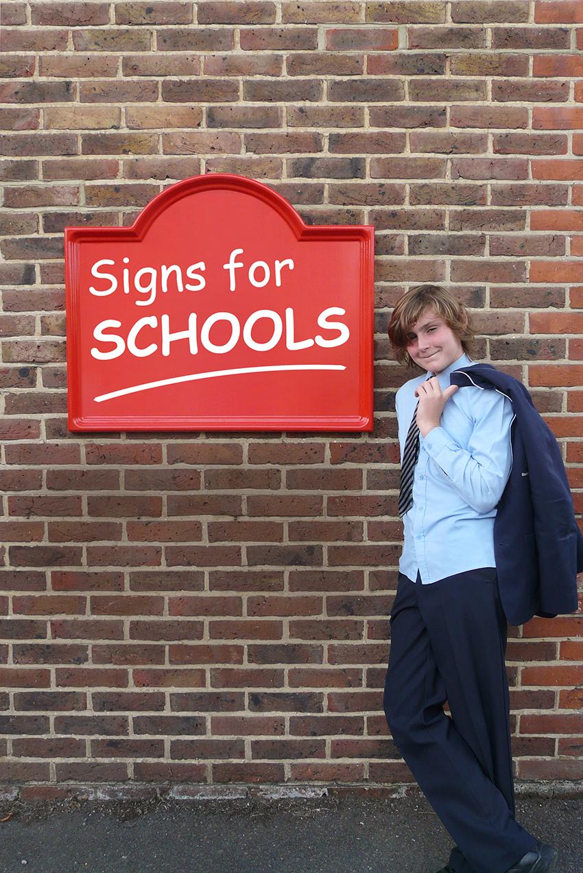 School signs