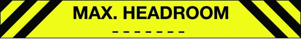 Car park max headroom sign