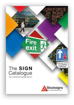Health and Safety Signs Catalogue from Stocksigns
