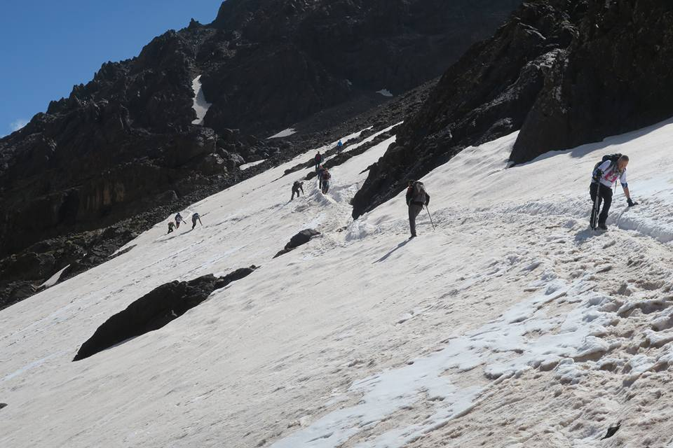 Charity Mount Toubkal Walk Group Snow Climb