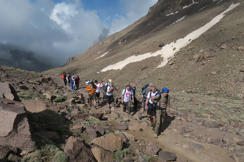 Charity Mount Toubkal Walk Group