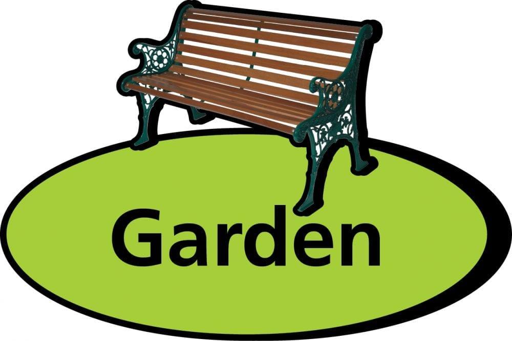3D pictorial garden sign
