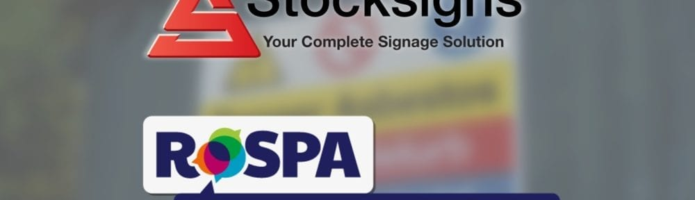 Charity Partners Stocksigns and RoSPA