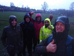Dingle Dash Training Rain