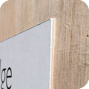 enviro signs fibre board sign material
