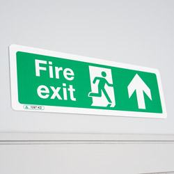 Fire Exit Signs for Facilities