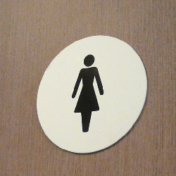 Toilet Sign for Facilities