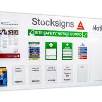 Site Safety Noticeboard