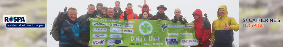 Dingle Dash Banner Charity