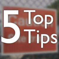 5 Top Tips Construction Safety
