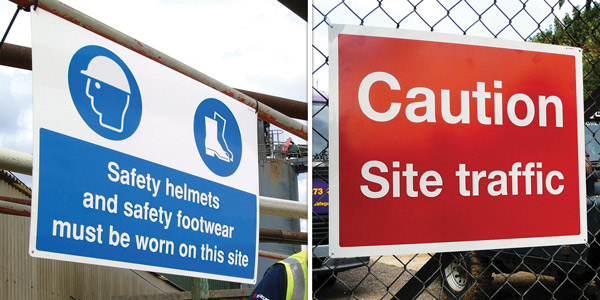 Siet Safety Signs from Stocksigns Ltd