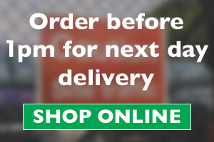 Order before 1pm for next day delivery