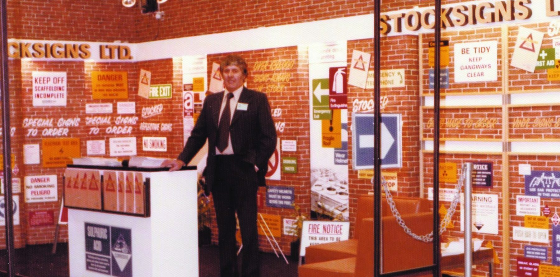 Stocksigns Exhibition Stand 1960
