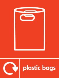 05779 plastic bags recycling bags sign