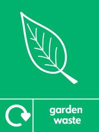 05858 Organic Garden Waste Sign