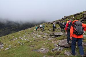 Dingle Dash Challenge Day 1 climb