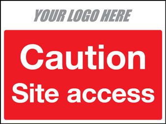 Caution site access