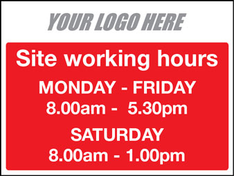 Site working hours