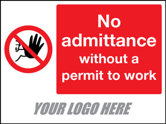No admittance without a permit