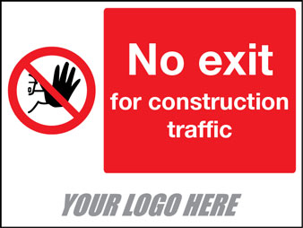 No exit for construction traffic