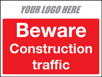 Beware construction traffic