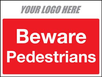 Beware pedestrians