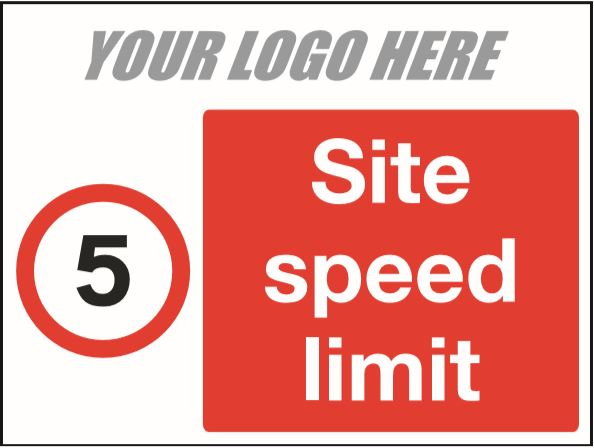 5mph site speed limit