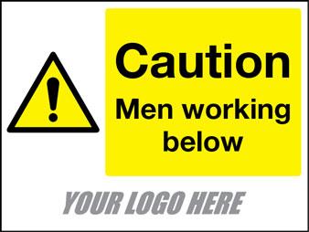 Men working below