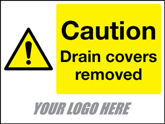 Caution drain covers removed