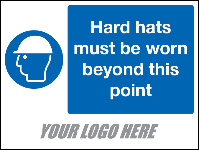 Hard Hats must be worn beyond this point